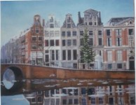 Herengracht with Ice